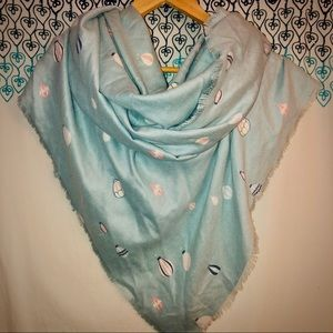 LC Lauren Conrad hot air balloon scarf wrap